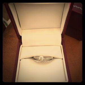 Woman Wedding ring set